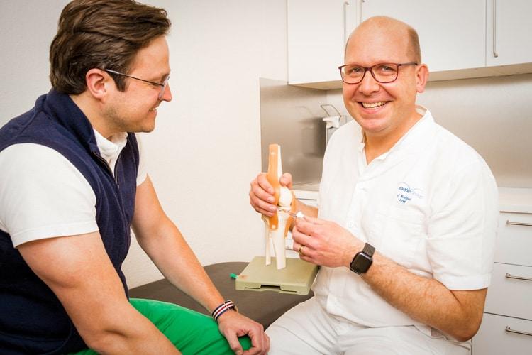 Orthopädische</br>Knorpelschutztherapie